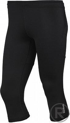 Pánské běžecké kalhoty Reebok RE 3/4 TIGHT