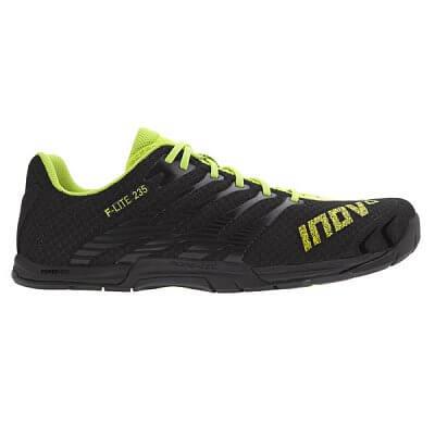Fitness obuv Inov-8 F-LITE 235 (S)) black/neon yellow černá