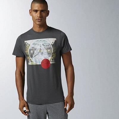 Pánské volnočasové tričko Reebok ELEMENTS GRPH T
