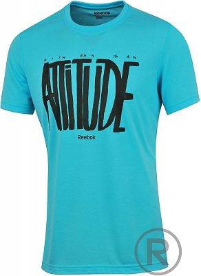 Pánské volnočasové tričko Reebok GT PD ATTITUDE