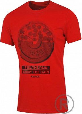 Pánské volnočasové tričko Reebok GT PIZZA TEE