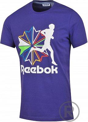 Pánské volnočasové tričko Reebok RR RUNNER GT