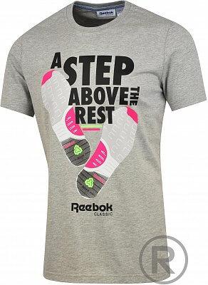 Pánské volnočasové tričko Reebok RR GT CUT AND SUE