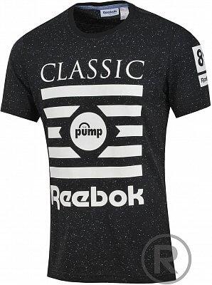 Pánské volnočasové tričko Reebok PP GT