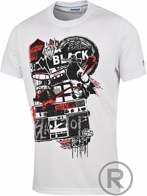 Pánské volnočasové tričko Reebok BLKTOP TEE 2