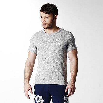Pánské volnočasové tričko Reebok F SMALL LOGO TEE