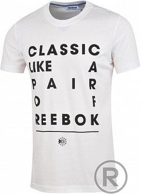Pánské volnočasové tričko Reebok F SLOGAN GT
