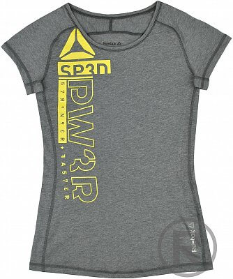 Dámské sportovní tričko Reebok OS TRIBLEND CRW