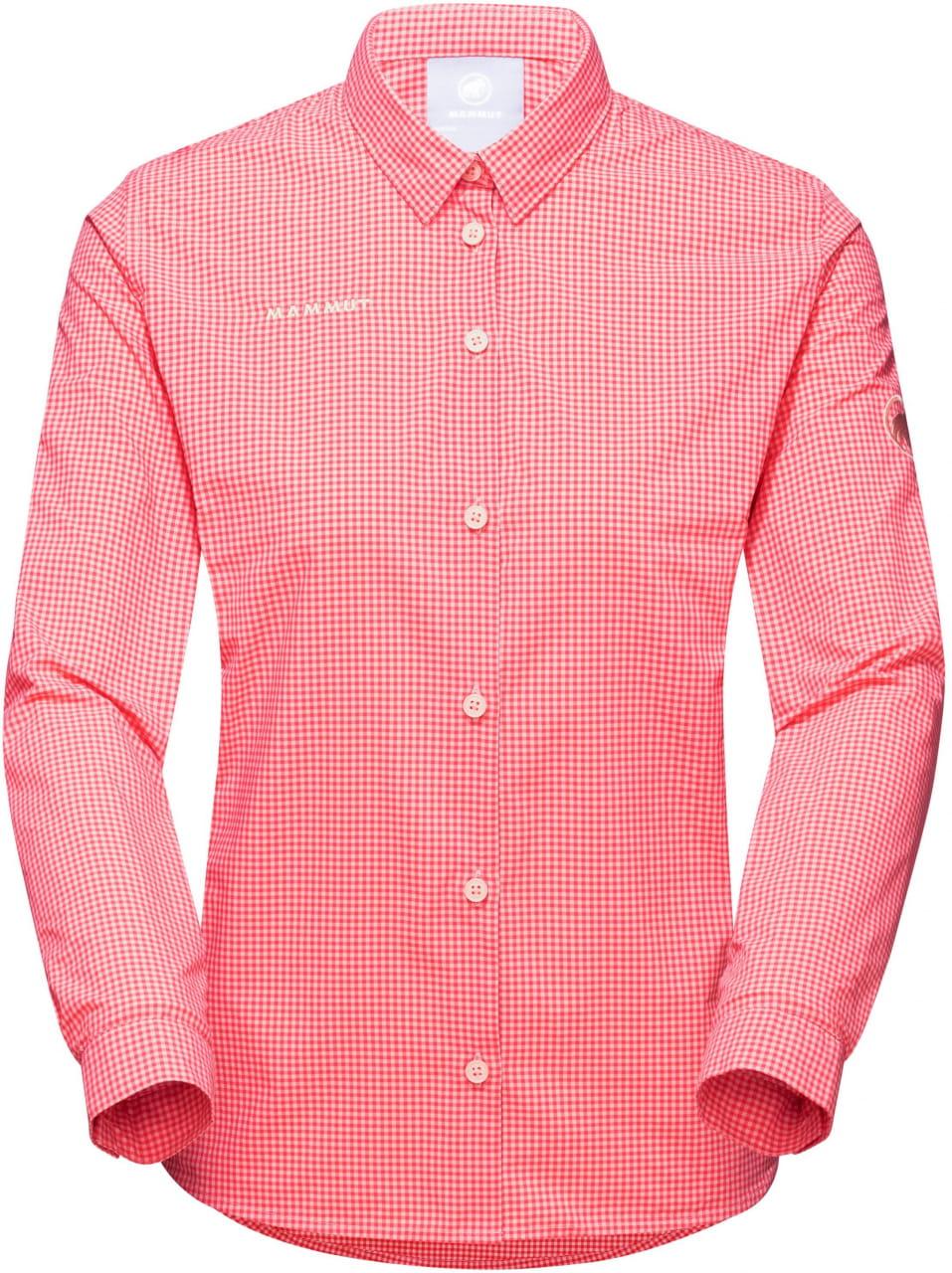 Košile Mammut Aada Longsleeve Shirt Women