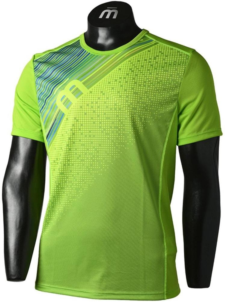 Pánske bežecké tričko Mico Man Half Sleeves R/Neck Running Shirt