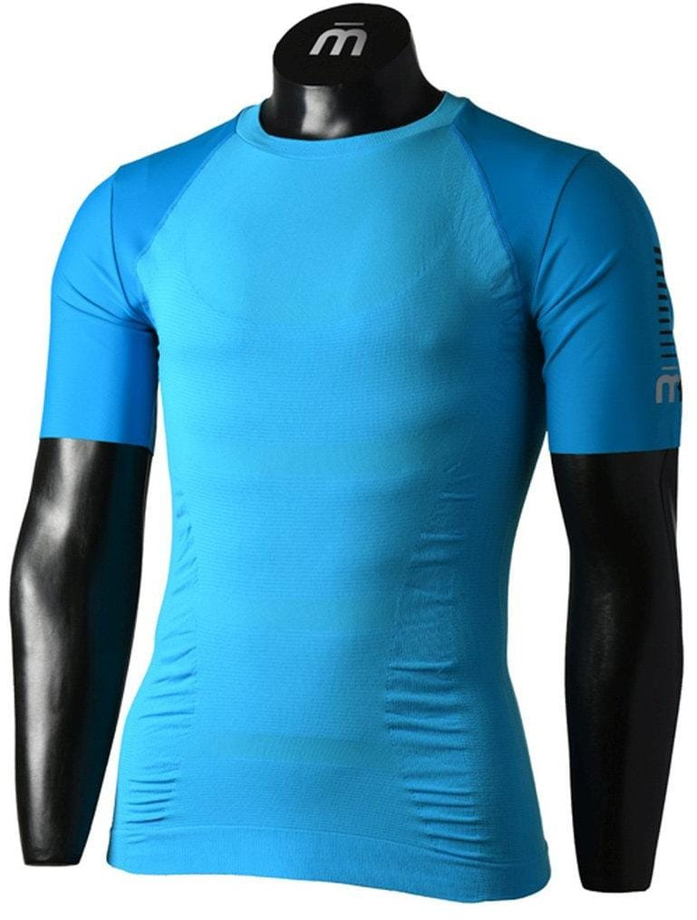 Pánske bežecké tričko Mico Man Half Sleeves R/Neck Shirt M1 Trail