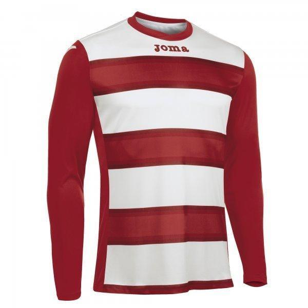 Trička Joma T-Shirt Europa III Red L/S