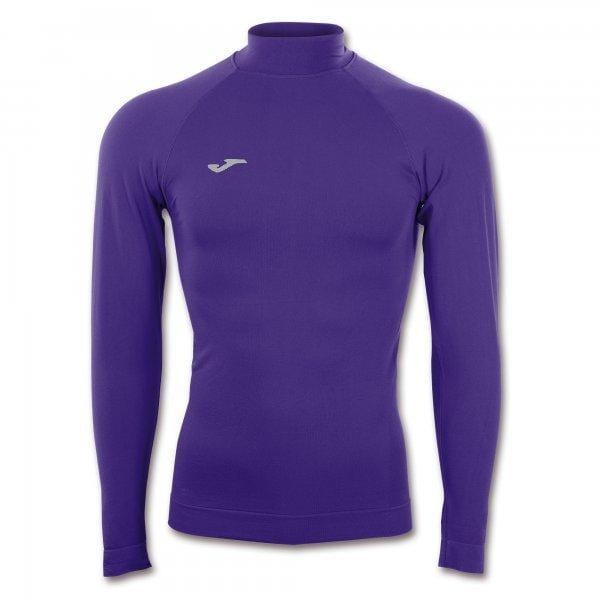 Trička Joma Brama Classic Seamless T-Shirt Purple L/S