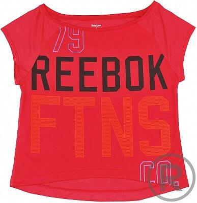 Dámské sportovní tričko Reebok WOR FTNS TEE