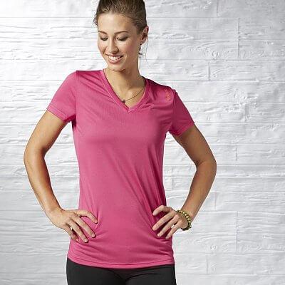 Dámské sportovní tričko Reebok WOR POLY TEE