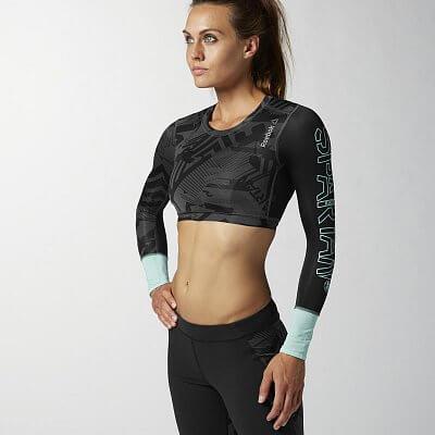 Dámské běžecké tričko Reebok SPTN W LS COMP
