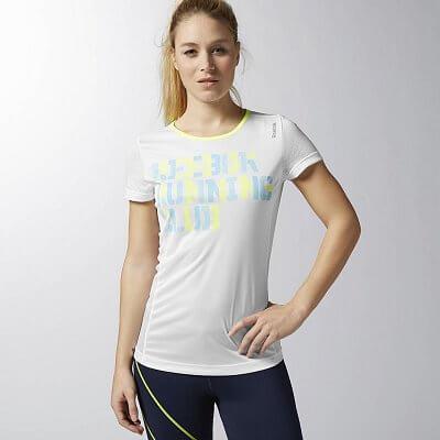 Dámské běžecké tričko Reebok RE SS TEE RC