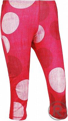 Dámské běžecké kalhoty Reebok RE CAPRI DOT