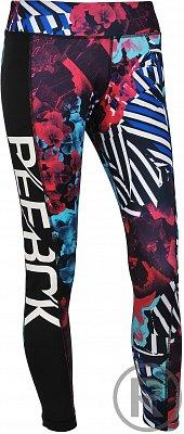 Dámské sportovní kalhoty Reebok D LEGGING PRINT