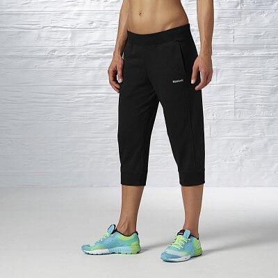 Dámské volnočasové kalhoty Reebok EL FT C CAPRI