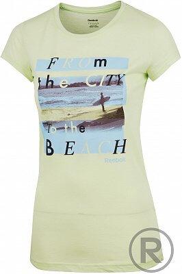 Dámské volnočasové tričko Reebok GT CITY BEACH