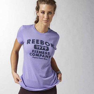 Dámské volnočasové tričko Reebok RBK HERITAGE T