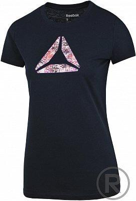 Dámské volnočasové tričko Reebok FLORAL FILL TEE