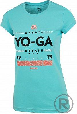 Dámské volnočasové tričko Reebok GT YOGA