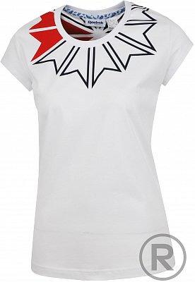 Dámské volnočasové tričko Reebok F STARC COLLAR GR T