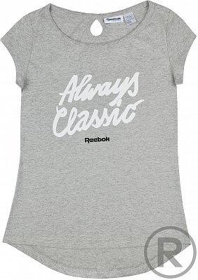 Dámské volnočasové tričko Reebok F SLOGAN GR T