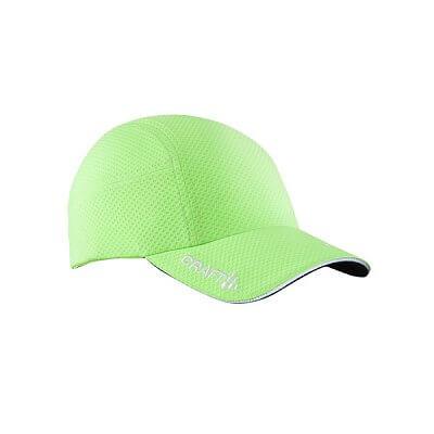 Čepice Craft Kšiltovka Running zelená