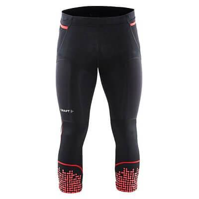 Kalhoty Craft Kalhoty Trail Knickers černá s červenou