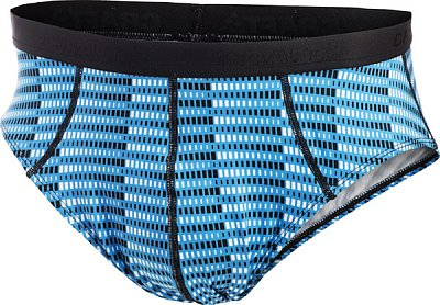 Spodní prádlo Craft Slipy Cool Briefs černá s modrou