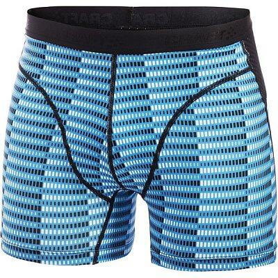 Spodní prádlo Craft Boxerky Cool Boxer černá s modrou
