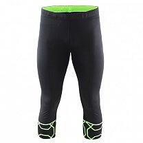 Craft Kalhoty Devotion Knickers černá se zelenou