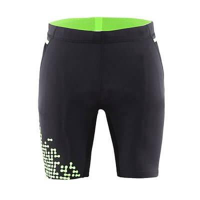 Kraťasy Craft Kalhoty Trail Fitness černá se zelenou