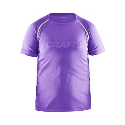 Trička Craft Triko Run fialová