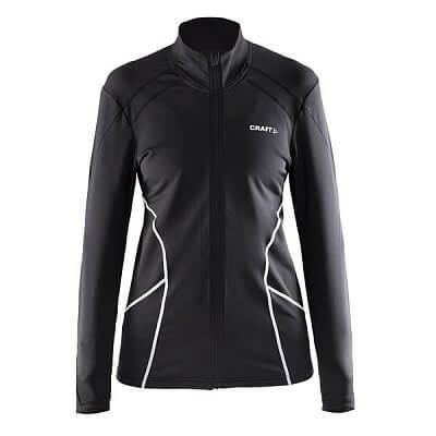 Mikiny Craft W Mikina Facile Jacket černá