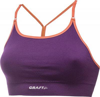 Spodní prádlo Craft Podprsenka Seamless Low fialová
