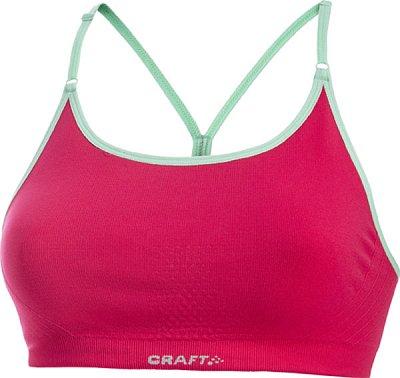 Spodní prádlo Craft Podprsenka Seamless Low růžová