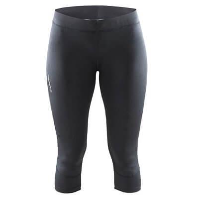 Kalhoty Craft W Kalhoty Devotion Capri černá