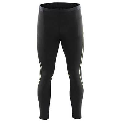 Kalhoty Craft Kalhoty Focus Tights černá se zelenou
