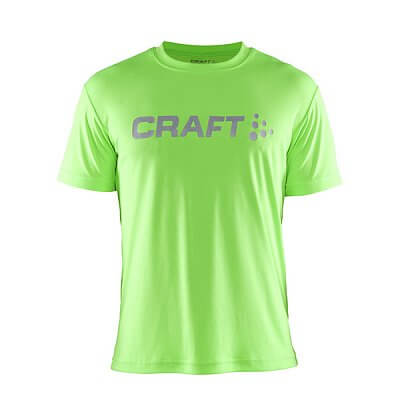 Trička Craft Triko Prime Logo zelená