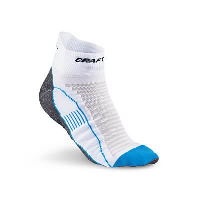 Ponožky Craft Ponožky Cool Run Ancle bílá