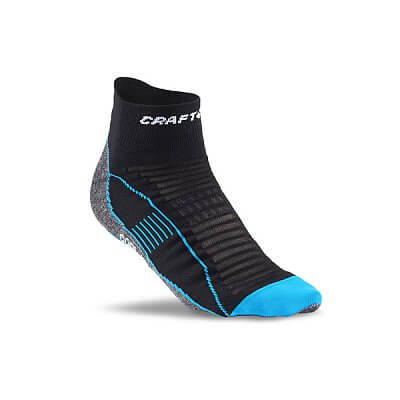 Ponožky Craft Ponožky Cool Run Ancle černá