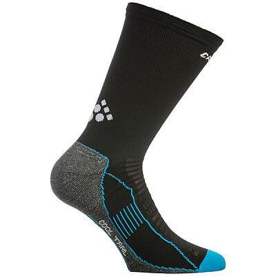 Ponožky Craft Ponožky Cool Trail černá