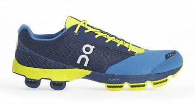 Pánské běžecké boty On Running Cloudster Denim/Lime