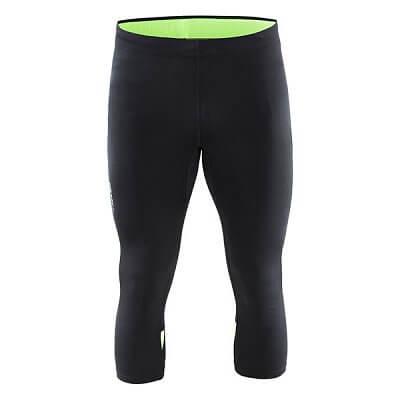Kalhoty Craft Kalhoty Prime Knickers černá se zelenou