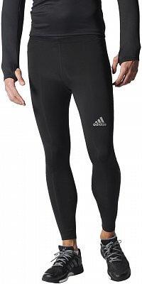 Pánské běžecké kalhoty adidas run tight black