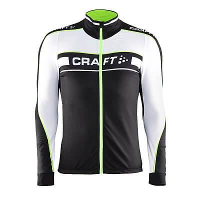 Trička Craft Cyklodres Grand Tour LS černá se zelenou